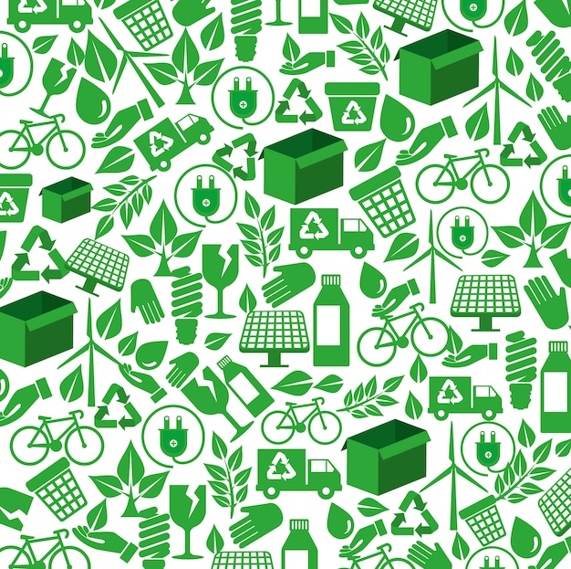 Élément écologique au contexte de la conservation de l'environnement
