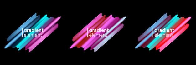 Élément fluide de gradient