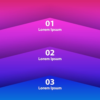 Élément infographie de fond