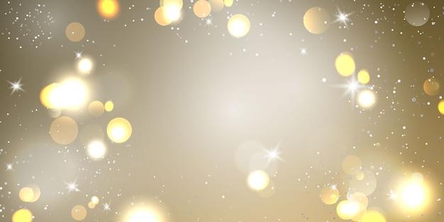 Élément de lumière flou abstrait qui peut être utilisé pour l'arrière-plan décoratif bokeh.