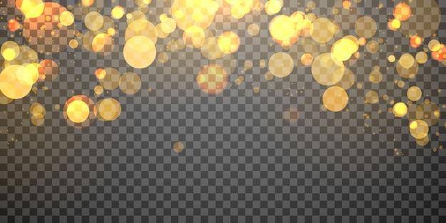 Élément de lumière floue abstraite qui peut être utilisé pour la couverture