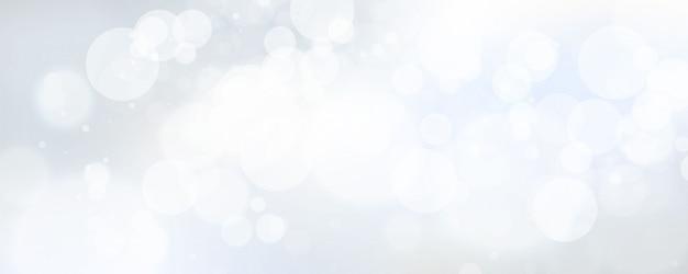 Élément de lumière floue abstraite qui peut être utilisé pour la décoration de la couverture bokeh avec une couleur bleue