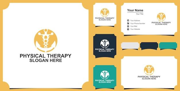 Élément de modèle de conception de logo de vecteur plat de logo médical de soins de santé