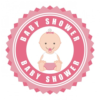 Élément simple de baby shower