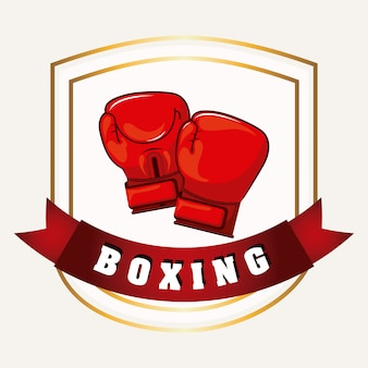Élément simple de boxe