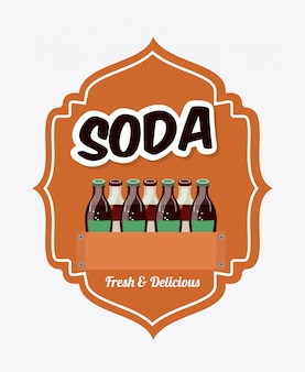 Élément simple soda
