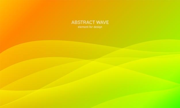 Élément de vague abstraite pour la conception. égaliseur de piste de fréquence numérique.