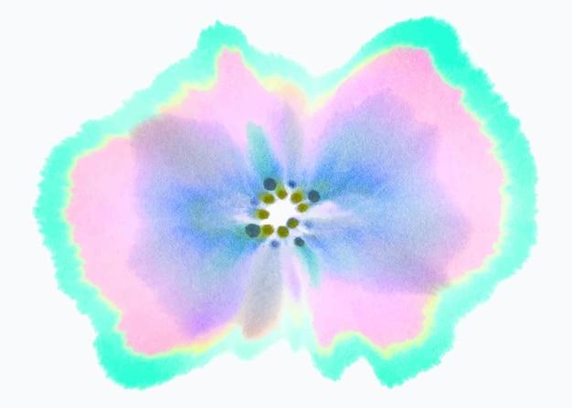 Élément de vecteur d'art de chromatographie abstraite esthétique