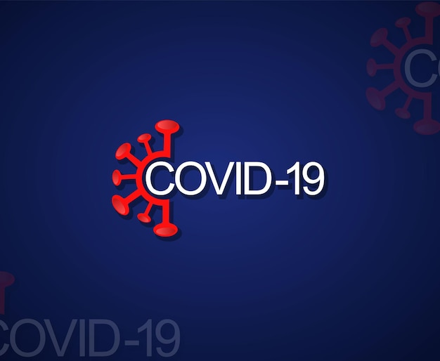 Élément De Vecteur Du Virus Corona Vecteur Premium