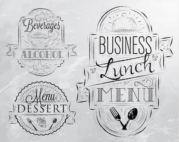 Elements business lunch gris