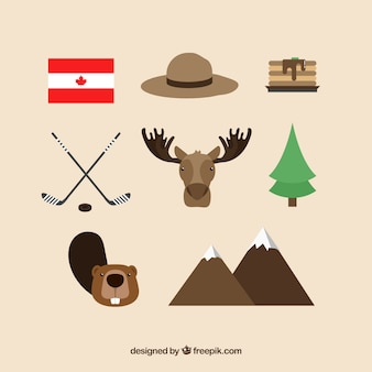 Éléments canadiens traditionnels