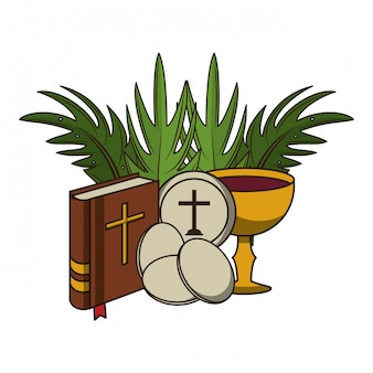 Éléments catholiques chrétiens