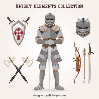 Éléments de chevalier de style classique