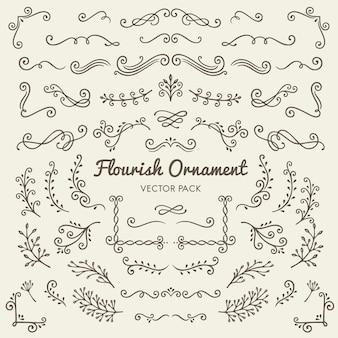 Éléments de conception calligraphiques