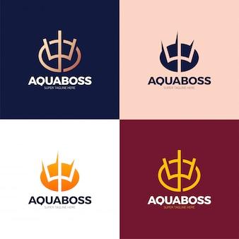 Éléments de conception de logo ukraine