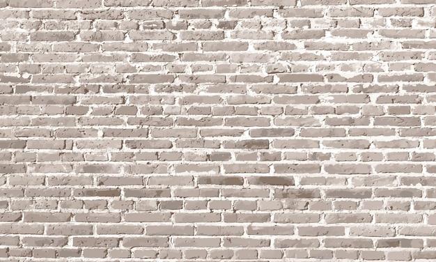 Éléments de conception mur de briques blanches