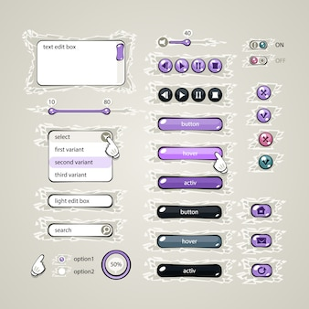 Éléments de conception web