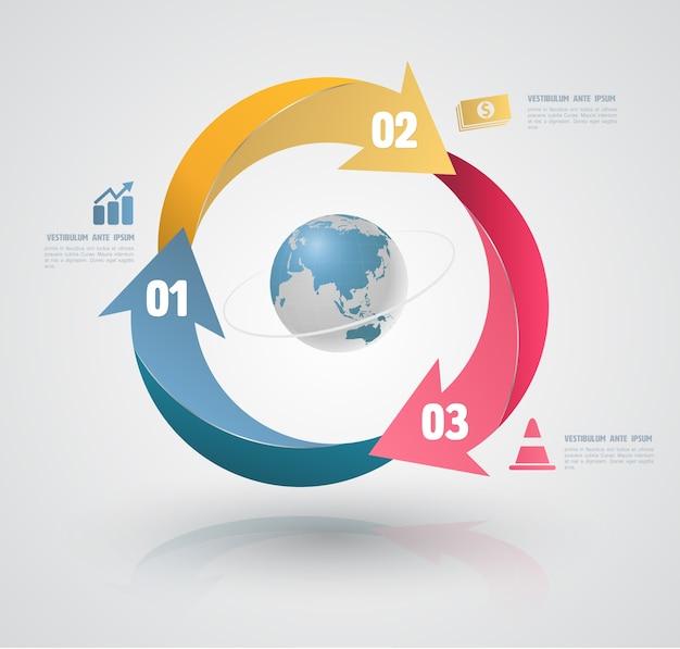 Éléments conceptuels pour infographie.