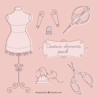 Éléments de couture