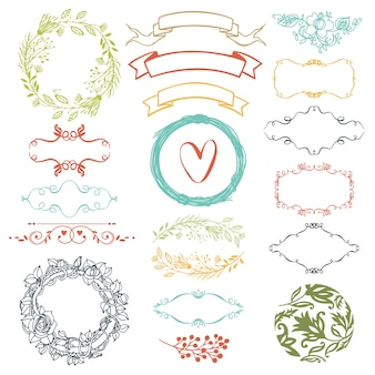 Éléments de design décoratif