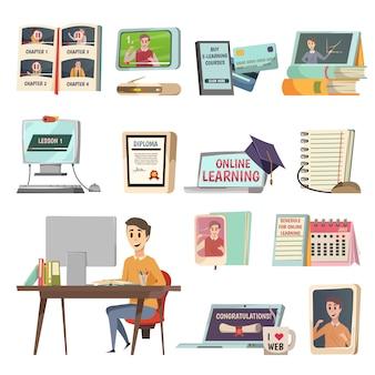 Éléments d'éducation en ligne