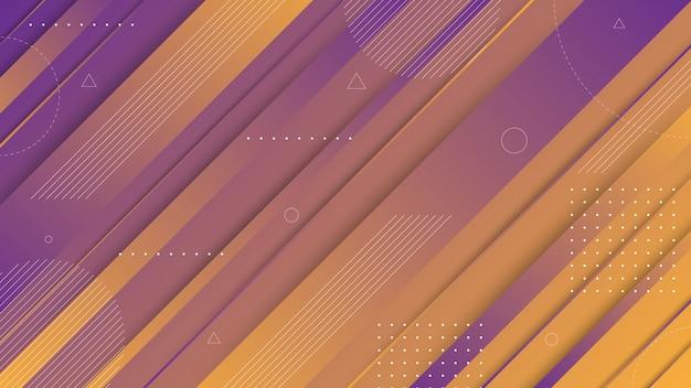 Éléments graphiques abstraits modernes. bannières dégradé abstrait avec des formes liquides qui coule et des lignes diagonales. modèles de conception de page de renvoi ou d'arrière-plan de site web.
