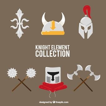 Éléments guerriers médiévaux