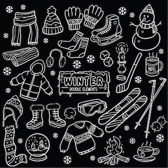 Éléments d'hiver