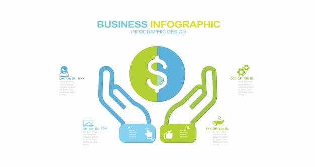 Éléments d'infographie illustration stock infographie partie du graphique