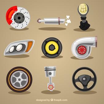 Éléments mécaniques