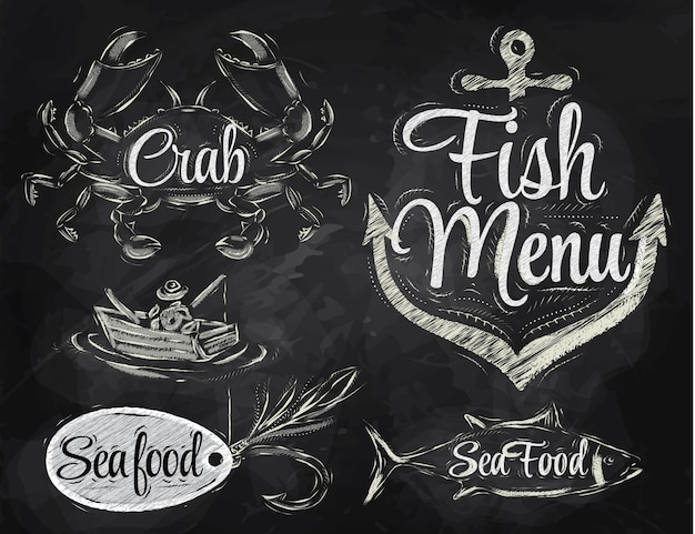 Éléments de menu