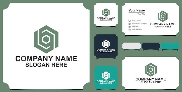 Éléments de modèle de conception lettre un logo icône illustration