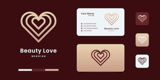 Éléments de modèle d'icône de symbole de coeur. modèles de conception de logo de concept de logo de soins de santé.