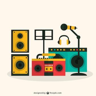 Éléments de musique colorée