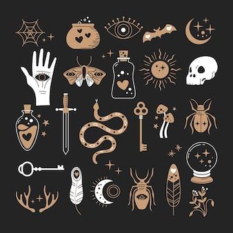 Éléments mystiques ésotériques