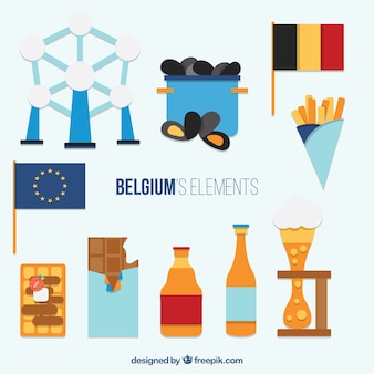 Les éléments de plat belgique