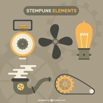 Éléments steampunk