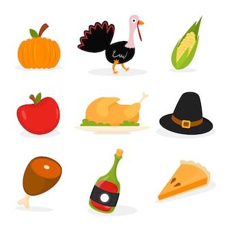 Éléments de thanksgiving