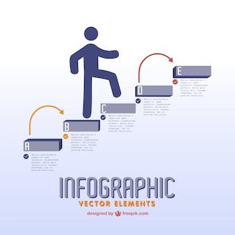 Éléments de vecteur infographie désignation libre