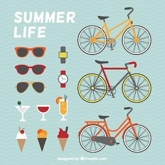 Éléments de la vie d'été