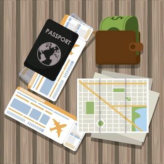 Éléments de voyage et de tourisme