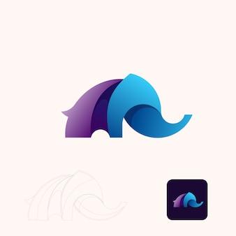 Éléphant moderne