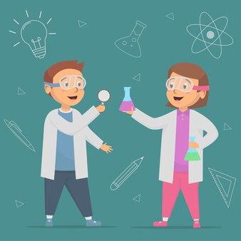 L'élève utilise une loupe à l'illustration de concepts de cours de sciences