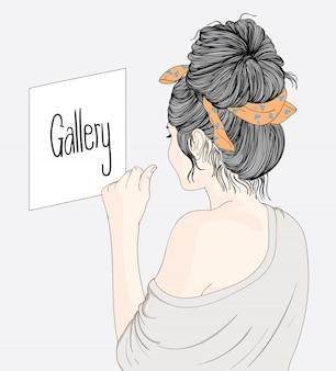 Elle aime beaucoup l'art dans sa vie personnelle
