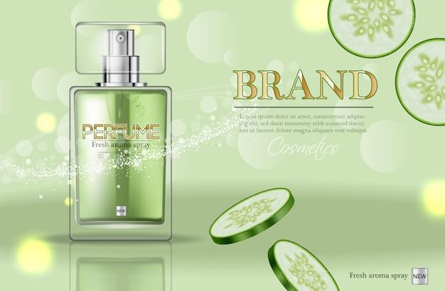 Emballage de bouteille de parfum