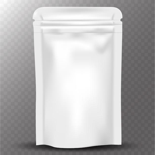 Emballage de café ziplock réaliste