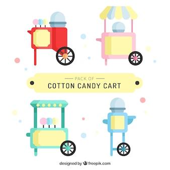 Emballage de chariots à base de coton