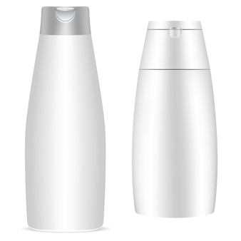 Emballage cosmétique blanc