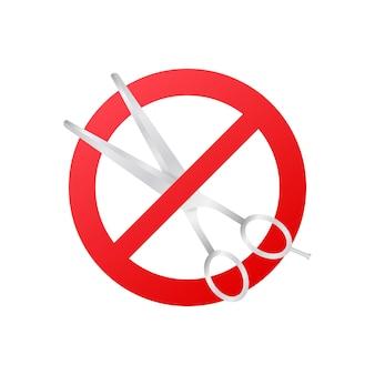 Emballage en papier découpé. aucun signe de coupe. conception de vecteur. symbole, illustration du logo.