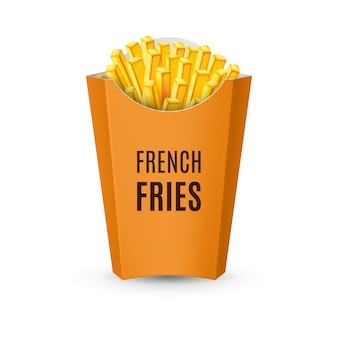 Emballage pour frites
